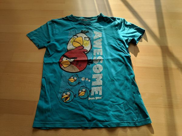 T-Shirt 146 152 angry birds