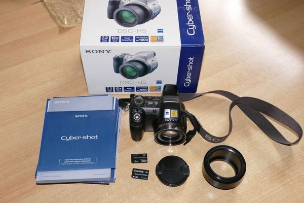 Sony Cypershot DSC-H5 Superzoom