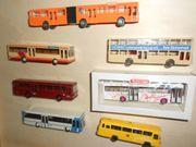7 x OMNIBUS Modelle verschiedene