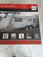 Wohnwagenabdeckung Größe XXL 730 x