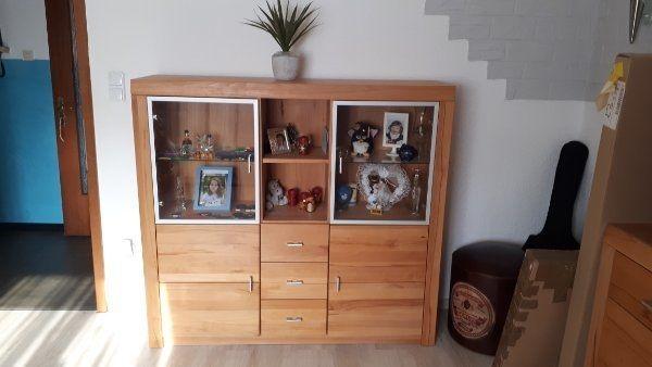 Wohn Esszimmer Kernbuche Möbeln In Krefeld Wohnzimmerschränke