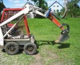 Geräte, Maschinen - Bobcat 371 Hoflader mit Schaufel
