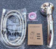 Duschkopf Handbrausekopf mit Ein Aus-Pausenschalter