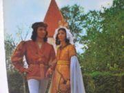 Postkarte - Ansichtskarte - Landshuter Hochzeit Brautpaar 1975