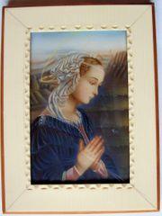 Gemälde Miniaturgemälde Filippo Lippi Madonna