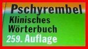 PSCHYREMBEL - KLINISCHES WÖRTERBUCH