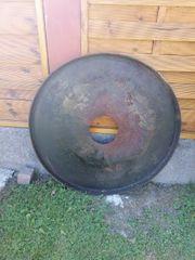 Große Grillplatte 100cm Durchmesser 5cm