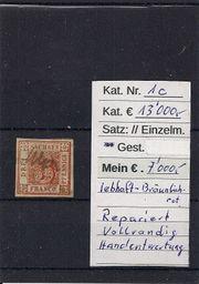 Raritäten Briefmarke