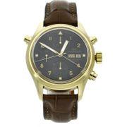 IWC Doppelchronograph in Gold - deutsche