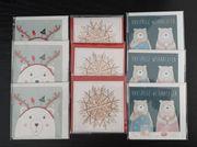 Weihnachtskarten - NEU