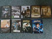 DVD 9 Filme als Konvolut
