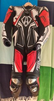 Arlen Ness Conquest Einteiliger Motorrad-Lederanzug