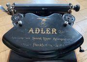 TOP Zustand Alte Adler Schreibmaschine