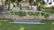 Gartenzubehör Teichbrücke