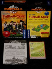 NEU - 2 Fußball-Quiz-Spiele - Wilde Kerle - Set