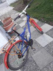 Verkaufe reparaturbedürftiges Kraftstoff Jugend-Fahrrad