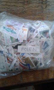 Briefmarken polen rinige tausend stück