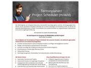 Terminplaner Project Scheduler m w