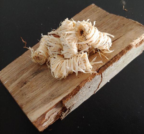 Anzünder Holz- o Kaminanzünder Holzwolle
