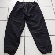 Jogginghose schwarz Baumwolle XXL