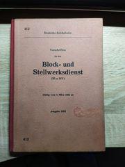 DR Dienstvorschrift für den Block-