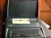 Schreibmaschine AEG Olympia Carrera Si