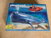 Playmobil 4489 Forscherboot mit Pottwal