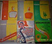 6 interessante Akk -Notenbücher in