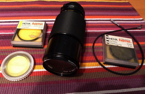 Analoges Canon FD-Telezoom 70-210 mit