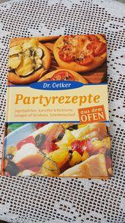 Modernes Kochbuch Partyrezepte aus dem