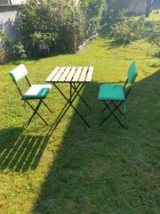 Gartenmöbel Set Balkontischset Terrasse Tischset