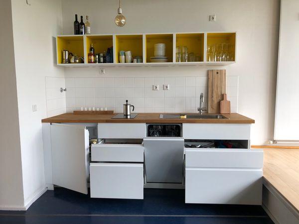 Küche weiß matt inkl. Elektrogeräten in Berlin - Küchenzeilen ...