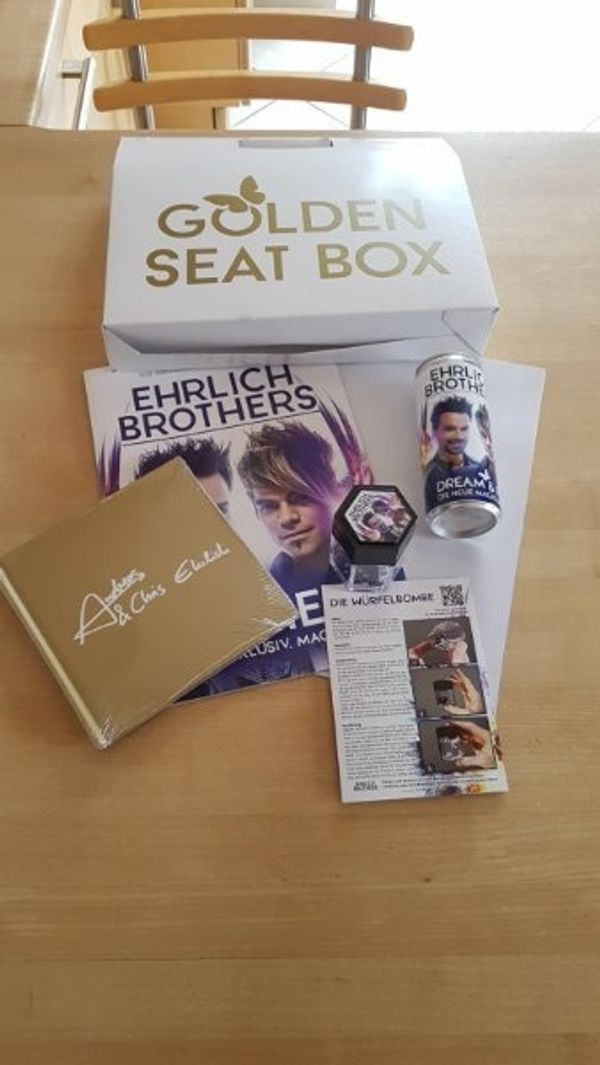 Ehrlich Brothers VIP Box Golden