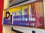 3D Lamellenbild von Diesel