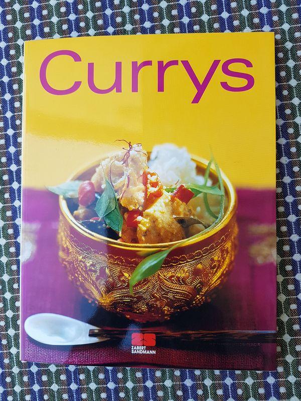 Neuwertiges modernes Kochbuch Currys