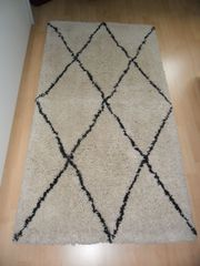 neuer Teppichläufer 70x140 cm beigefarben