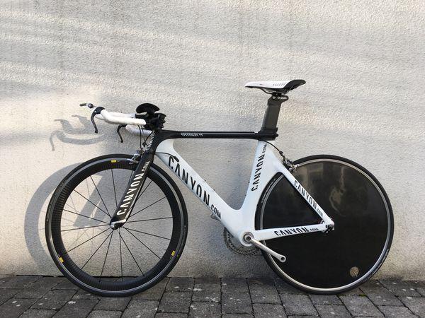 Zeitfahrrad Triathlonrad Canyon Speedmax CF
