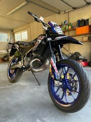 Moped Gilera SMT 50 drifting