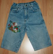 Blaue Jeans-Shorts-Bermudas - Größe 128 - Hose -