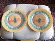 Coca-Cola Glasteller 2 Stück 10 -