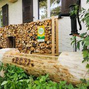Brunnentrog Holz