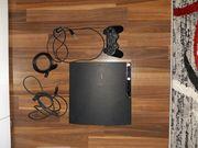 Playstation 3 konsole mit 10