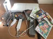 Wii Konsole mit CD Spiele