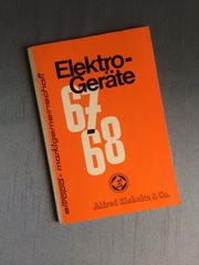 Elektrogeräte 67 68 Katalog der