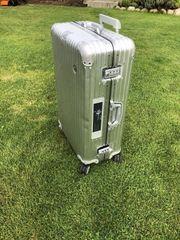 Rimowa Koffer XL aluminium E-Tag