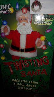 Twisting Santa aus USA