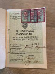 Reisepass erste Republik