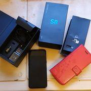 Samsung Galaxy S8 in Schwarz