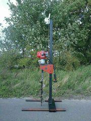 Benzin Brunnenbohrer Brunnenbohrgerät Brunnen bohren