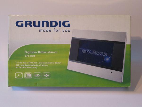 Bilderrahmen Grundig GPF 6870 digital